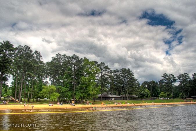 John Tanner State Park in Carrollton, Georgia.