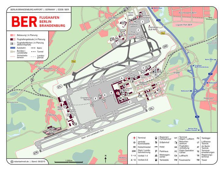 BER   Berlin Brandenburg Airport.