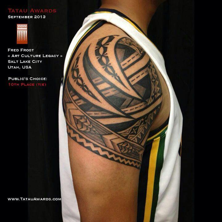 Beautiful #samoan #tattoo
