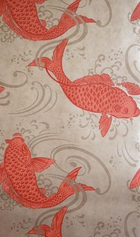 Derwent- Osborne & Little Koi Wallpaper  W5796-03