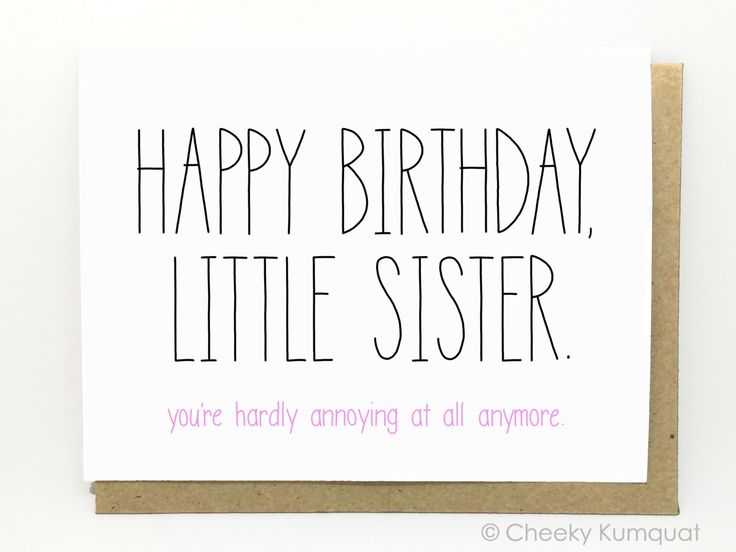 Best 25 Birthday cards for sister ideas – Funny Birthday Greetings for Sister