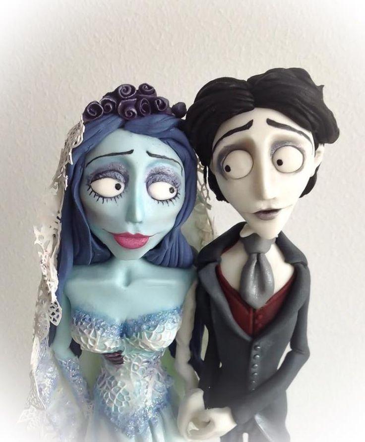 Corpse Bride Cake Topper Tutorial