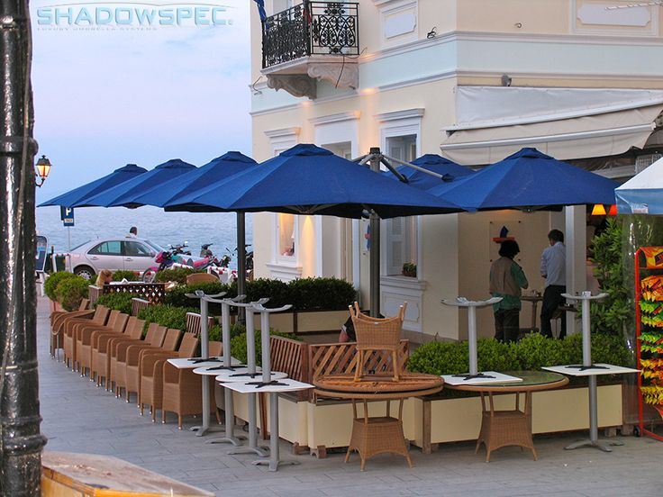 SHADOWSPEC   Global Suppliers Of Luxury Outdoor Umbrella Systems. The  Absence Of Internal Moving Parts