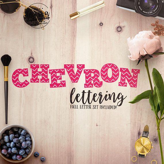 Chevron Letters svg Chevron Alphabet svg Chevron Font svg