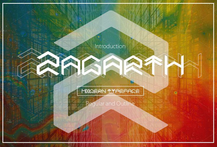 Zagarth Typeface by MAGOO STUDIO on Creative Market