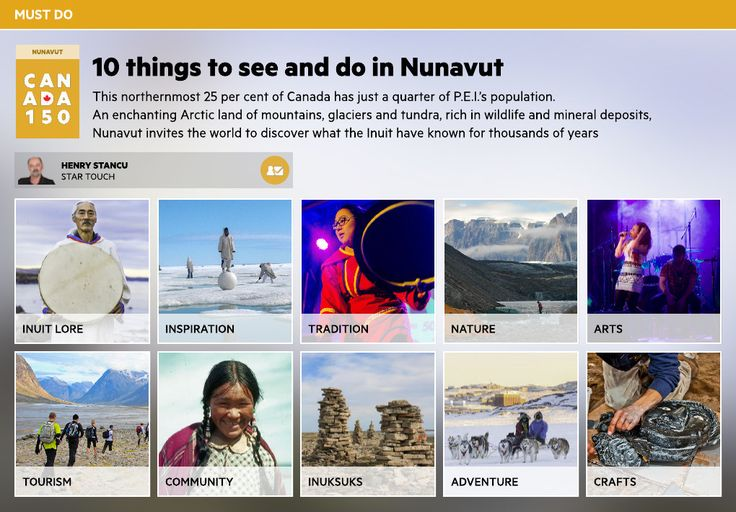 10 things to see and do in Nunavut - Toronto Star Touch