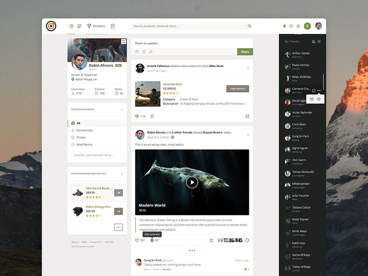 Hunt Store - Where Hunting community can now purchase hunting tools, provide feedback, leave comments, share new places, upload photos and socialize with fellow huntsmen. It's a rather new web proj...