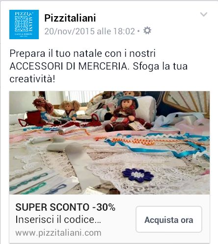 30% DISCOUNT ON ALL OUR PRODUCTS!!! CLICK ON www.pizzitaliani.com