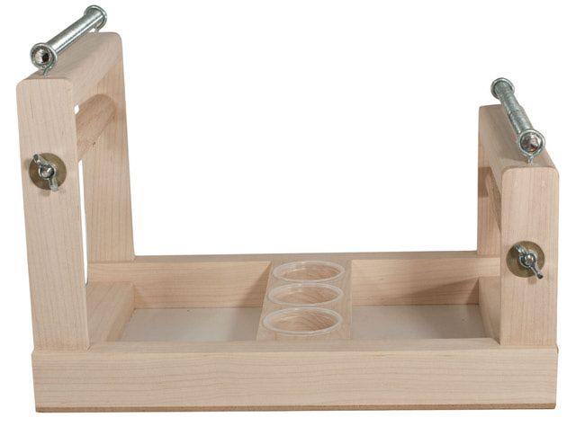 Types of Bead Looms: Wood Fixed Frame Bead Loom