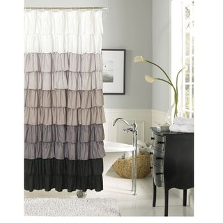 Curtains Ideas ann and hope curtain outlet : 17 Best ideas about Ruffle Shower Curtains on Pinterest | Ruffled ...