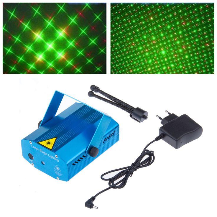 Hot Sell Mini Magic Projedtor DJ Disco LED Light Stage Party Lights Laser Show Projector Lighting Show luzes de led para festas