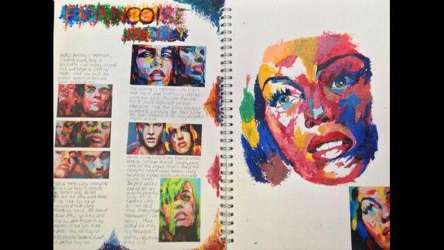 Art sketchbook inspiration