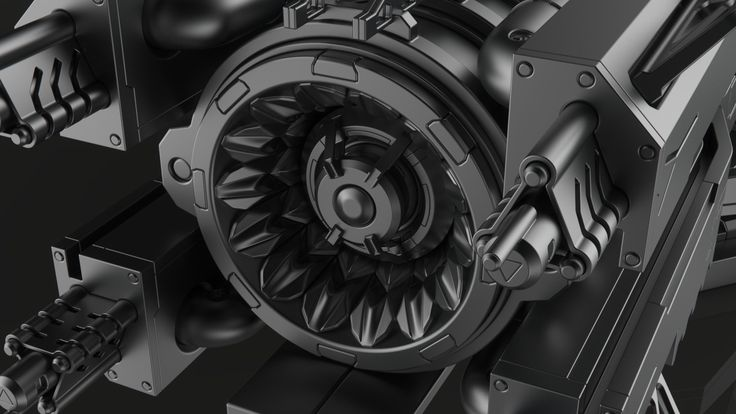 ET 16K Blaster, Laurentiu Nedelca on ArtStation at https://www.artstation.com/artwork/boN3v