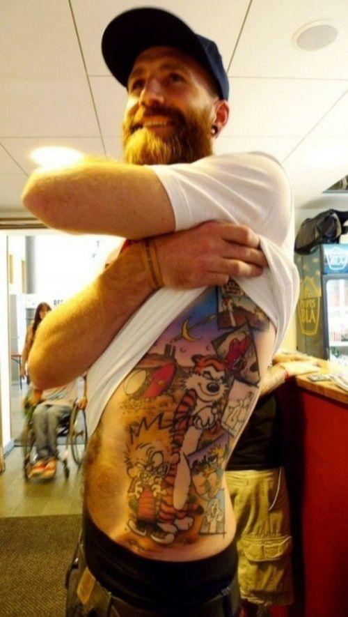 tattoo - calvin and hobbes