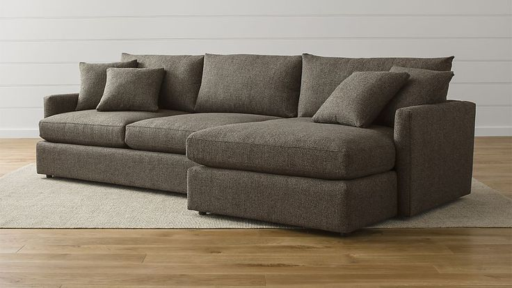 Our new couch we just ordered. Love it! So comfortable. Lounge II 2-Piece Sectional Sofa | Crate and Barrel