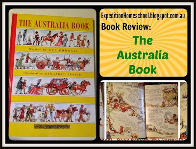 Expedition Homeschool: Book Review: The Australia Book