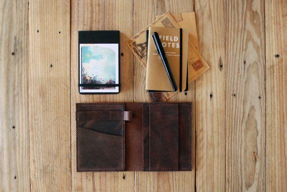 Moleskine cover. Agenda leather cover. Small by JustWanderlustShop