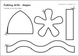 23 best Kids Cut and Paste Worksheets images on Pinterest