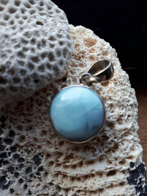Check out this item in my Etsy shop https://www.etsy.com/ca/listing/532057342/larimar-pendant