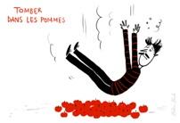 tomber dans les pommes: S'évanouir  (desmayarse)  exemple: «Le docteur Baumal […] c'est lui qu'on appelait rue de la Pompe pour s'occuper des gars qui étaient tombés dans les pommes; il les ranimait, et on recommençait à leur tortiller les doigts de pied.»  (Simone de Beauvoir, Les Mandarins) #expressions #idiomatiques