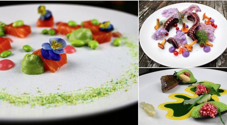 Take a look at Painting Food, an Instagram account dedicated to the art of plating: https://www.finedininglovers.com/blog/news-trends/painting-food-plating/