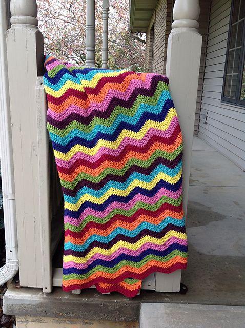 54 Best Crochet Easy Ripple Images On Pinterest Crochet Afghans