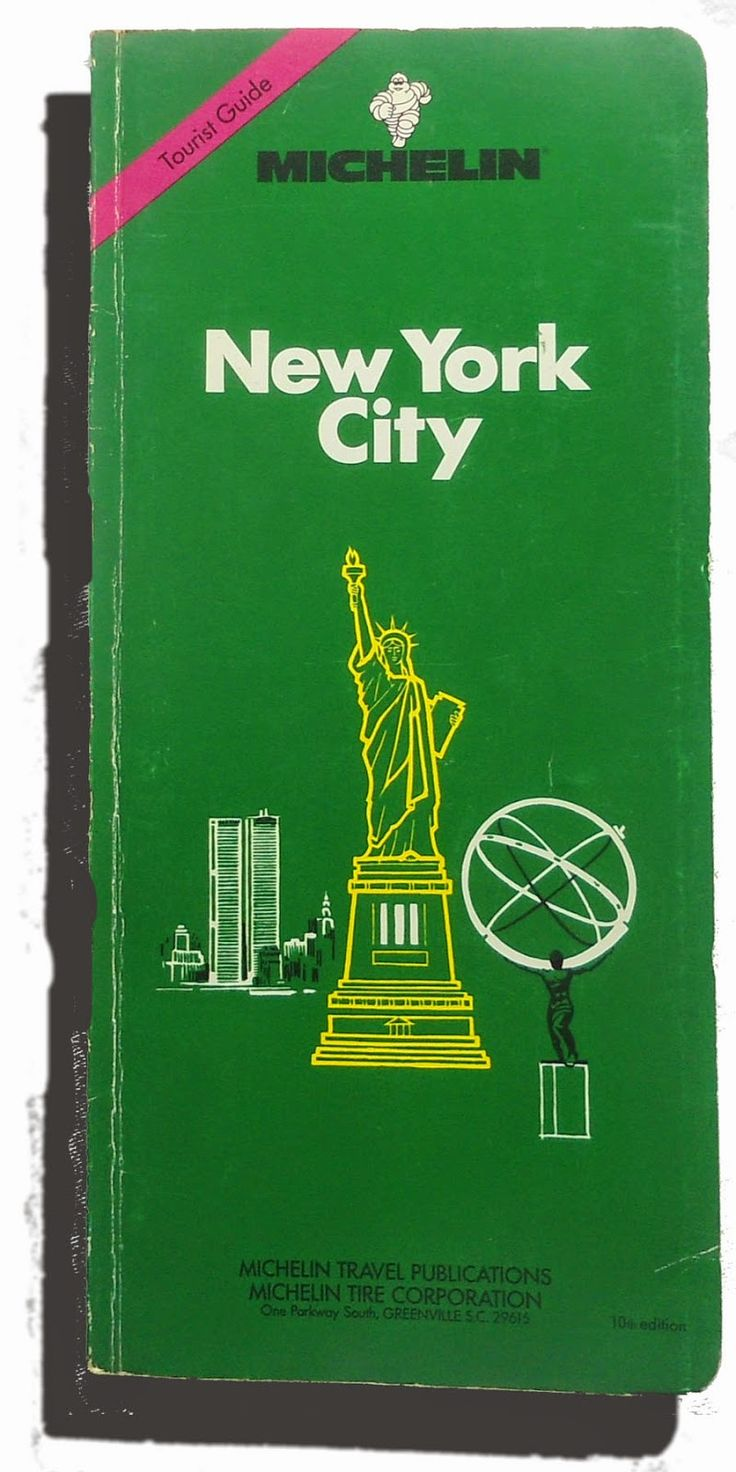 MICHELIN: New York city. Tourist guide, the green one