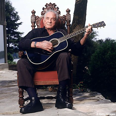 CAS Walker | Johnny Cash home razed by ring of fire | Mail Online