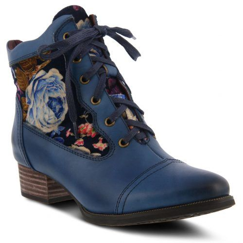 L'Artiste by Spring Step Boots SANDI Blue | Canada | Buy Online