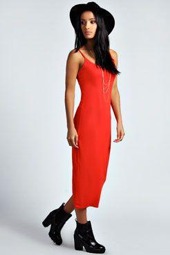 Midi Dresses | Jersey Midi Dress |boohoo