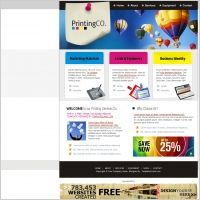 PrintingCo. Template | Web Design Maryland | #Webdesign #websitedesign #web #WebDesignMaryland