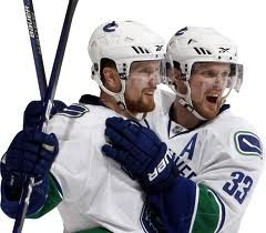Canucks Sedin Twins