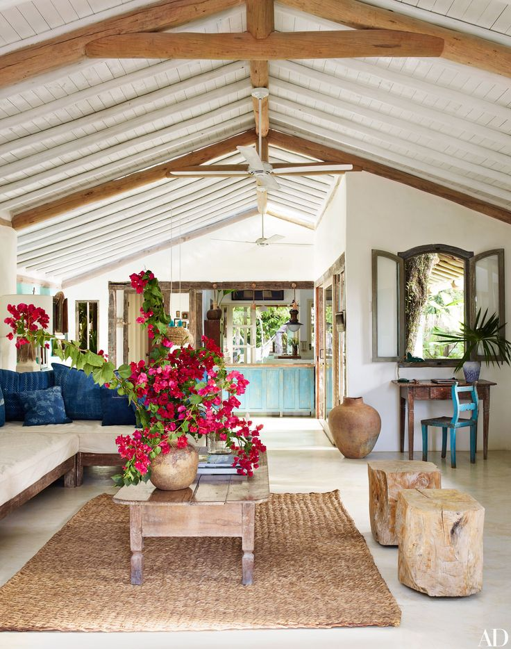 Anderson Cooper's Vacation Home in Trancoso, Brazil, by designer Wilbert Das
