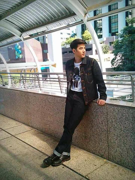 Lee Jeans Thailand Shoot Today - Mario Maurer Vietnam