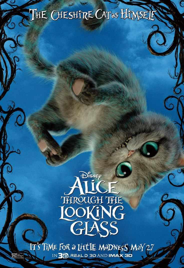 Alice Through the Looking Glass The Cheshire Cat Poster