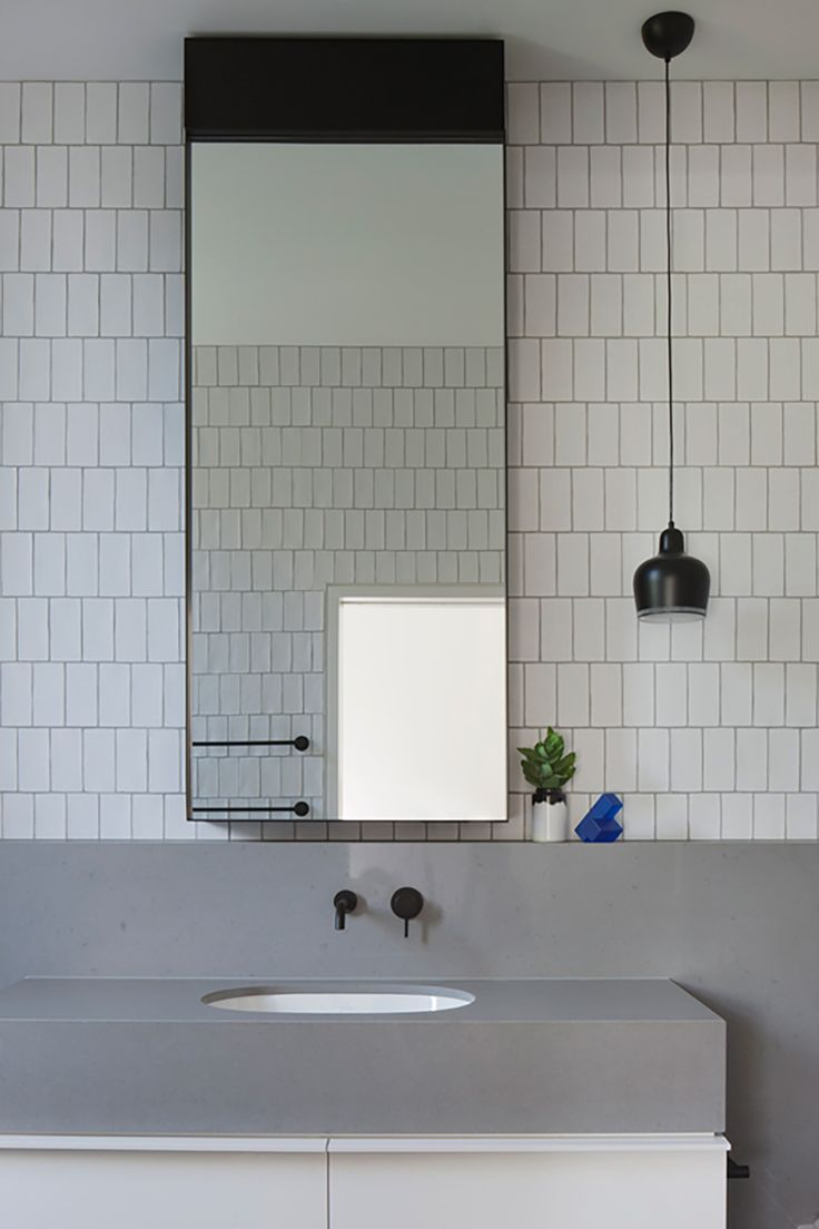 Bathroom | Elsternwick House | Matt Gibson Architecture + Design and Mim Design | est living