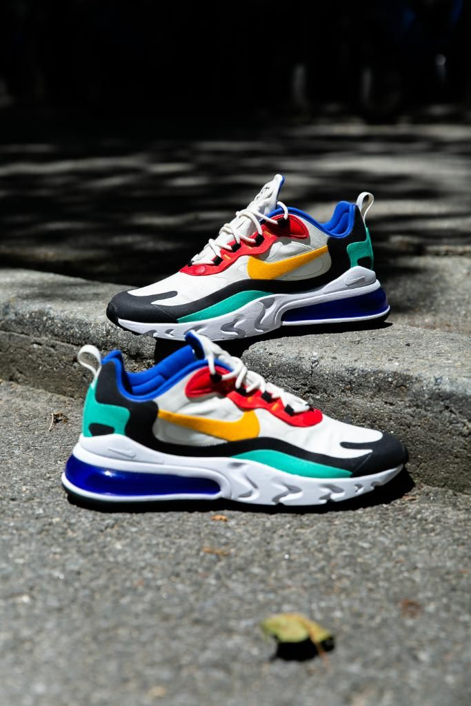 Nike Air Max 270 React (Pop Art) Men's Shoes. Nike LU