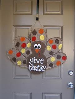 burlap turkey design #2