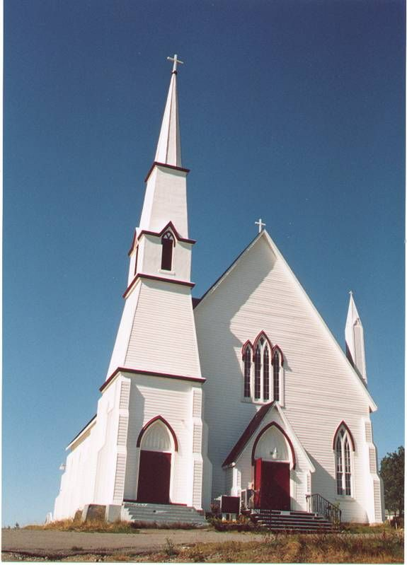 Sts Peter and Paul Roman Catholic Church ~ King's cove, Bonavista Bay, Newfoundland