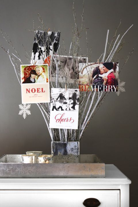 27 Christmas Card Display Ideas That Turn Season\u0027s Greetings Into