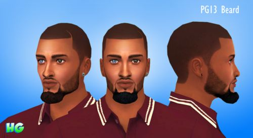 [HGCC]PG13-BeardBeard inspired by NBA All-Star Paul George.  • Maxis Match Like  • All Maxis Colors  • Teen-Elder  • Hand Painted Texture  • Original Mesh  Terms of Use  Do not re-upload my content.  Do not claim as your own.  Do not include my content with...