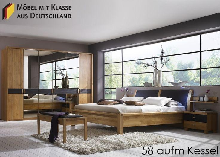 New Schlafzimmer komplett Wiemann Rhodos Schlafzimmerm bel Holz Teilmassiv Erle Schlafzimmer Rhodos bestehend aus Kleiderschrank Futonbett