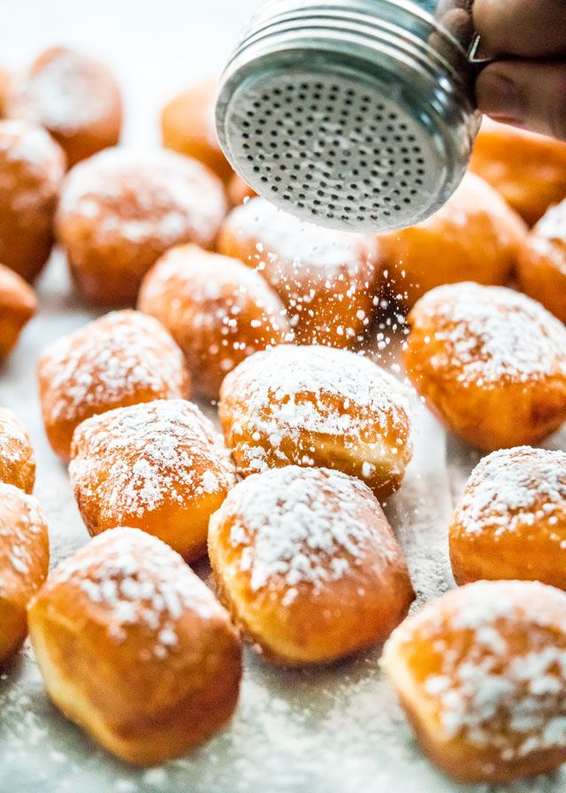 Nothing beats homemade beignets! They're soft, pillowy, fluffy and airy, not to mention totally scrumptious. Close your eyes, take a bite and enjoy!