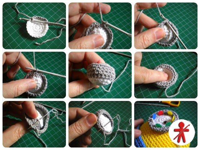 Minions en Amigurumi - Perles & Co
