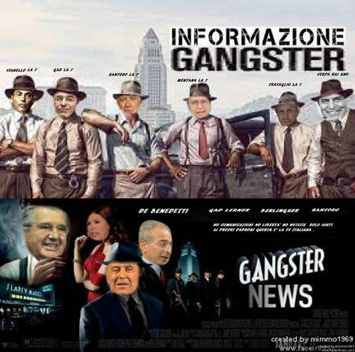 Giornalisti Manipolatori della notizia a favore del potere forte e no della verita.....