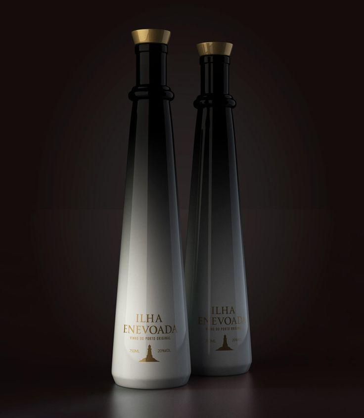 Ilha EnevoadaPavel Kulinski, Wine Packaging, Concept Packaging, Packaging Design, Wine Bottle, Beverages Packaging, Bottle Design, Ilha Enevoada, Porto Wine