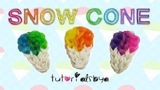 easy rainbow loom back to school keychain - YouTube