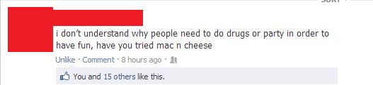 have you tried mac n cheese?