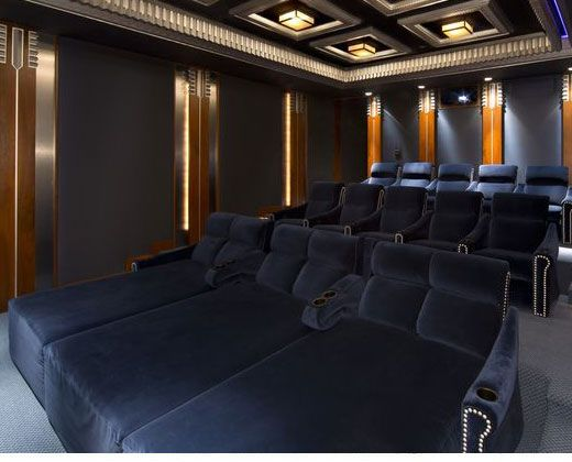 Gorgeous Seating By Fortress Seating, Inc. #HomeTheater #HomeCinema  #FortressSeating #theaterSeating Part 88