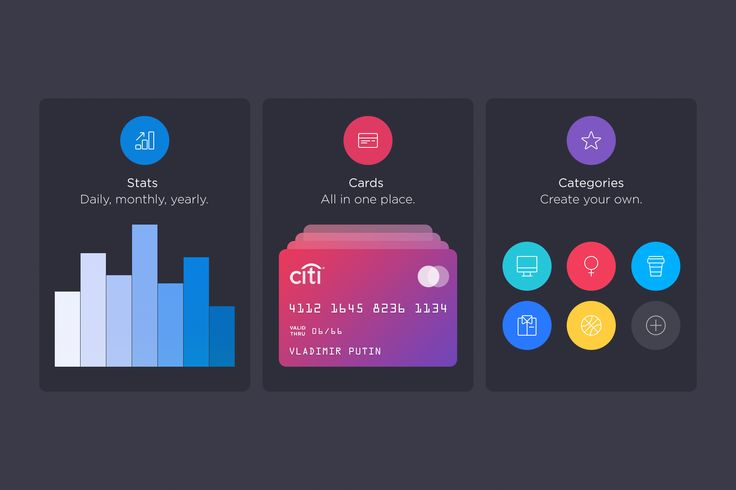 Walle Finance App [Tutorial Cards] by Alexander Zaytsev